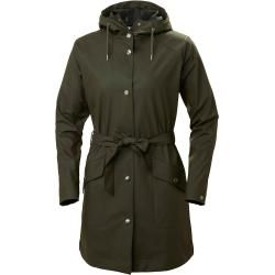 Photo of Helly Hansen Woherr Kirkwall Ii Raincoat Rain Winterjacke Green Xl