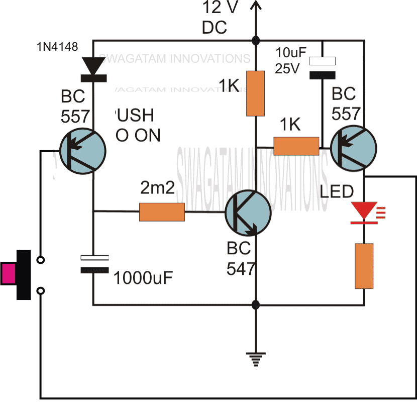 Simple Delay Timer Circuits Explained Homemade Circuit Projects Electronics Circuit Electronic Circuit Projects Circuit Projects