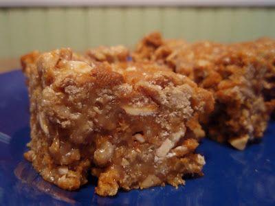 Grape-Nuts Peanut Butter Bars