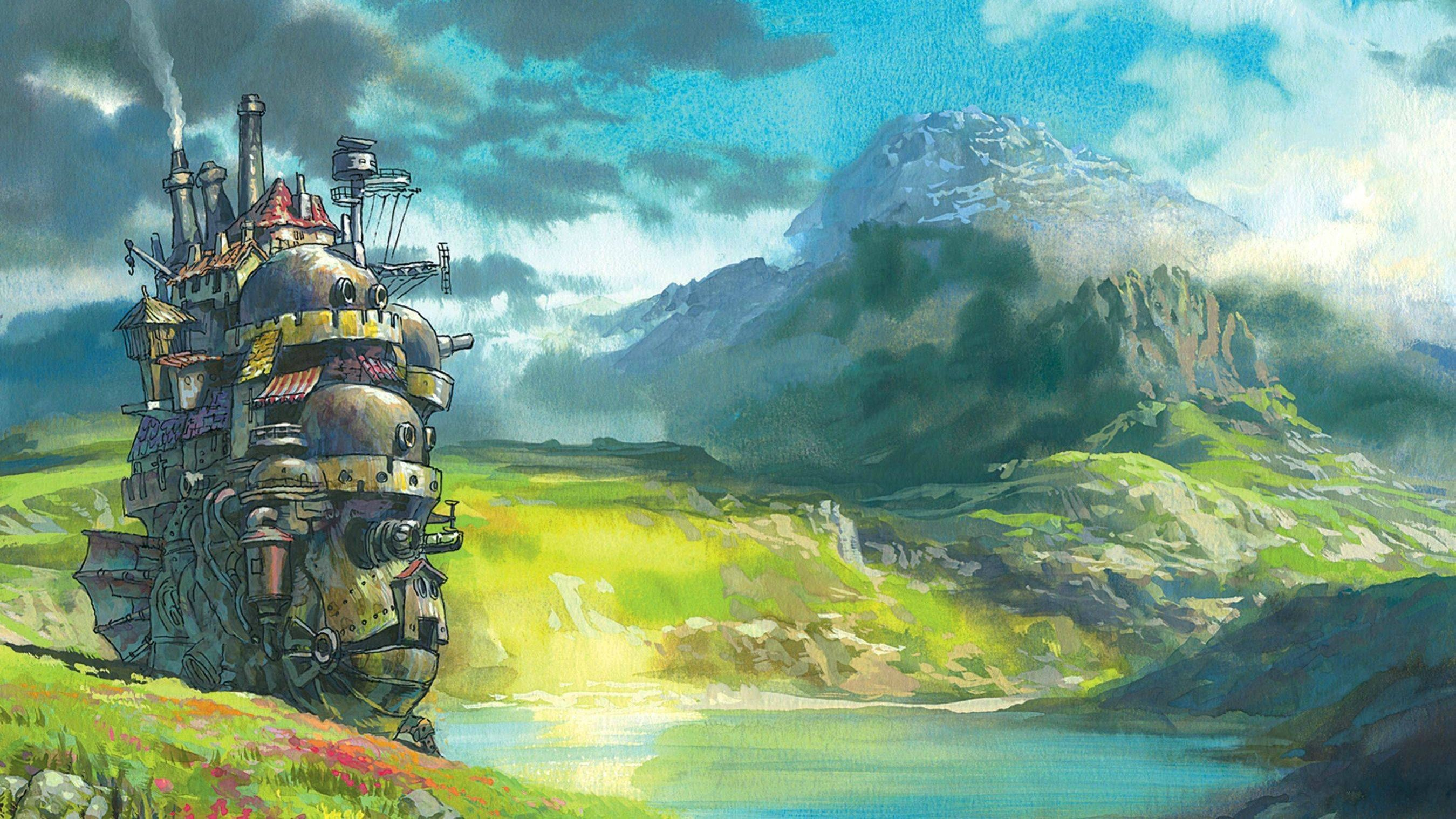 Howl S Moving Castle Computer Wallpapers Desktop Backgrounds 2699x1518 Id 325547 Howls Moving Castle Wallpaper Howls Moving Castle Art Howls Moving Castle