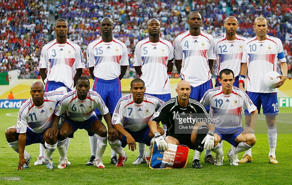 The France Team Line Up For A Group Photo Prior To The Fifa World Cup In 2020 France Team Fifa Fifa World Cup