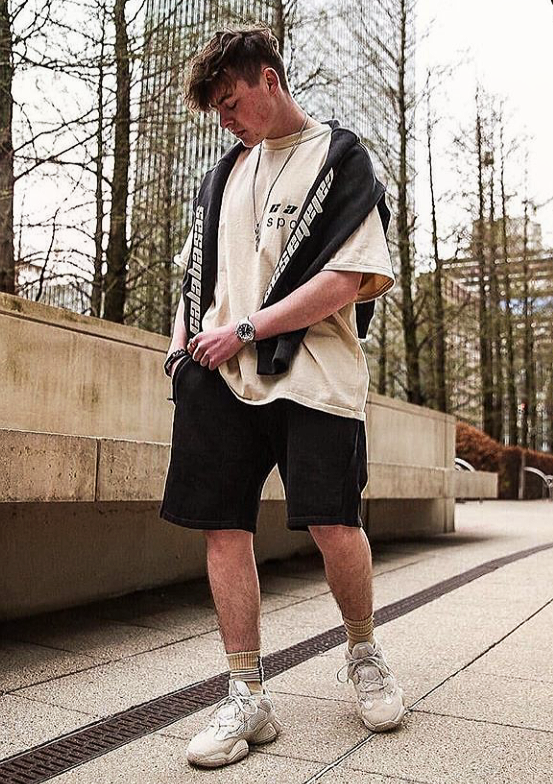 Blush outfit, Sneakers men fashion