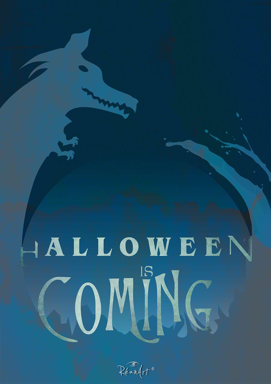 Halloween Is Coming! #halloween #graphicdesign #design #typography #quote  #word