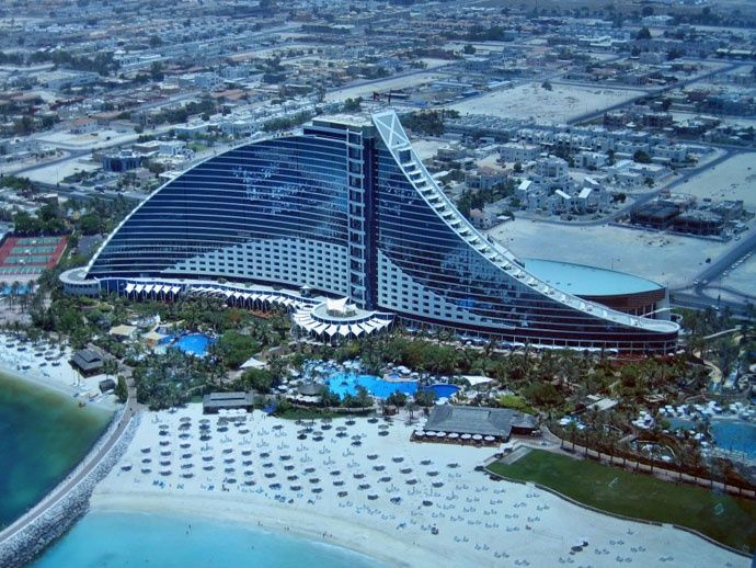 Luxury Hotels That Offer The Sweetest Escape In Dubai Architecture Jumeirah Beach Hotel