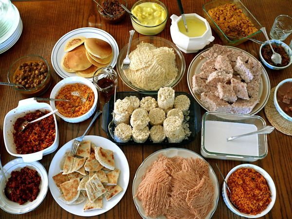 A sri lanka breakfast everything centered around the for Authentic sri lankan cuisine