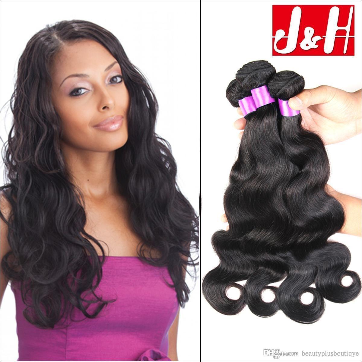 2019 的 Brazilian Hair Unprocessed Human Hair Weaves