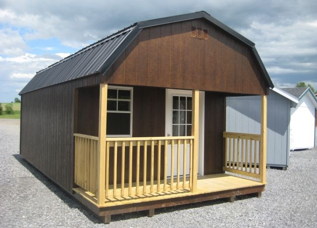 The Jackson - Prefab Cabin Shed in 2019 | Storage and Garden Sheds
