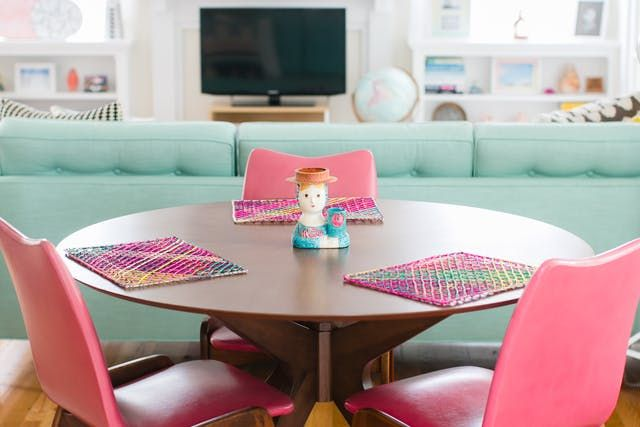 Ideas for Adding Color to a Rental When You Can't Paint | Apartment Therapy