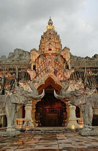 Thailand Travel Inspiration - Elephant Theatre Palace in Phuket, Thailand