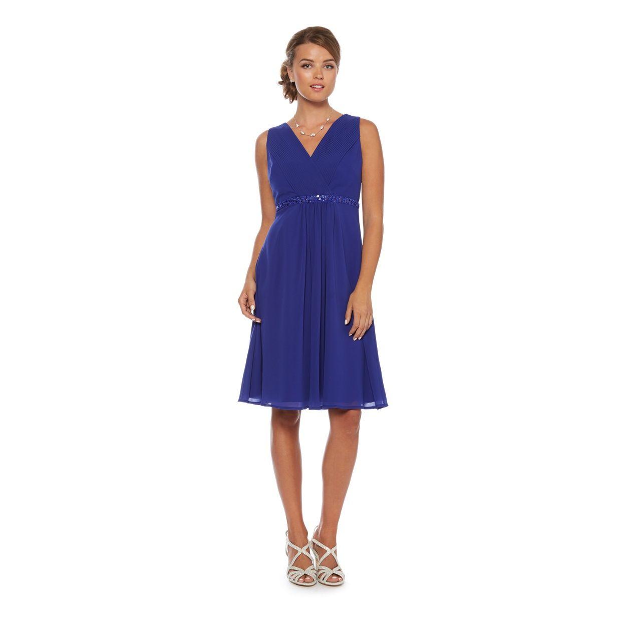 Debut cobalt blue jewel trim midi occasion dress at debenhams debut cobalt blue jewel trim midi occasion dress at debenhams blue bridesmaid dressesbridesmaid ombrellifo Choice Image