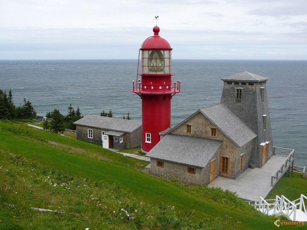 Gaspesie Phare De Pointe A La Renommee Lighthouse Lighthouse Travel Lighthouse Pictures