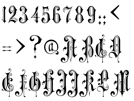 Font Identified Alexandra Gophmann Victorian Gothic One Available At Eaglefonts Ttf 129642htm