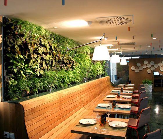 Jardines verticales de interior paisajismo Pinterest Jardín