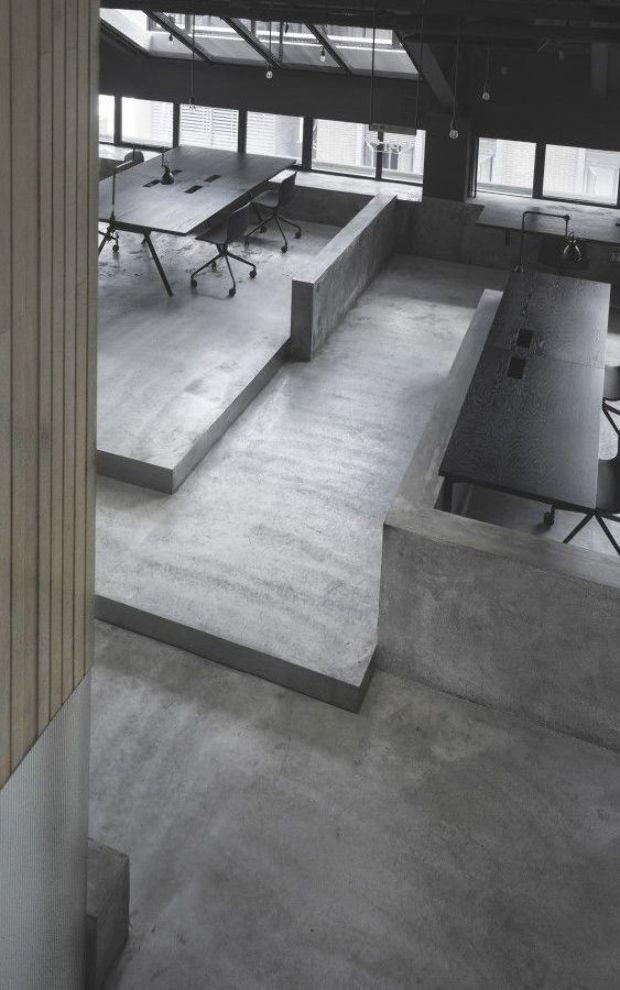 Endo Room Design: Flamingo Shanghai Office / Neri & Hu Design And Research