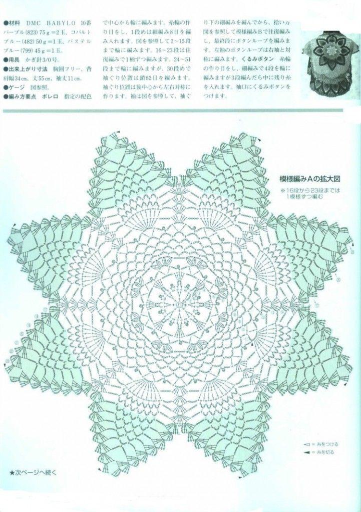 Materiales gráficos Gaby: Trajes de baño en crochet | بلوزات ...