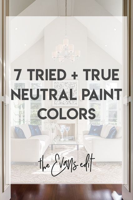 7 Tried + True Neutral Paint Colors That Work Every Single Time – The Evans Edit Neutral paint colors, Sherwin Williams Rice Grain 6115, Benjamin Moore Revere Pewter HC 172, Benjamin Moore Rockport Gray HC 105, Benjamin Moore Swiss Coffee OC 45, Sherwin Williams Agreeable Gray 7029, Benjamin Moore Bleeker Beige HC 80, Sherwin Williams Divine White 6105 #sherwinwilliamsagreeablegray 7 Tried + True Neutral Paint Colors That Work Every Single Time – The Evans Edit Neutral paint colors, Sherwin #sherwinwilliamsagreeablegray