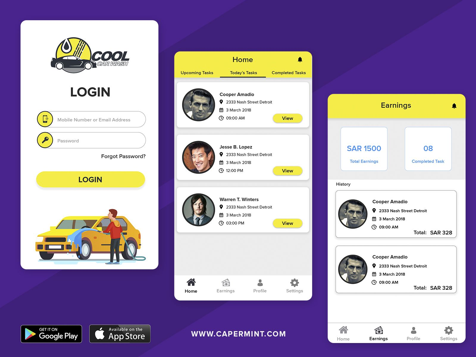 Hello Guys I Would Like To Show You Our New App Cool Car Wash Cool Car Wash Is A Professional Mobile C Car Wash Mobile App Development App Development