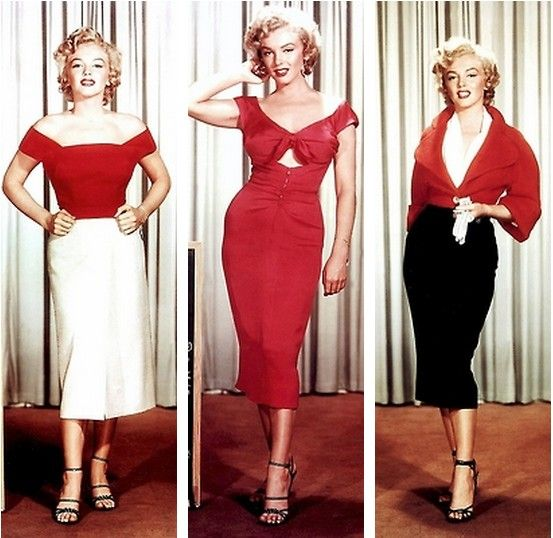 Marilyn Monroe in costume tests for Niagara eff353e1f6f8