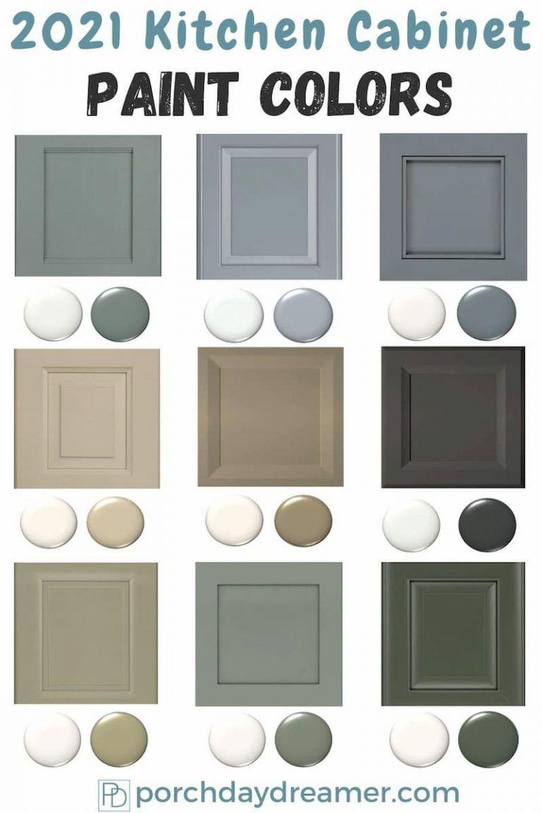 2021 Kitchen Cabinet Paint Color Trends
