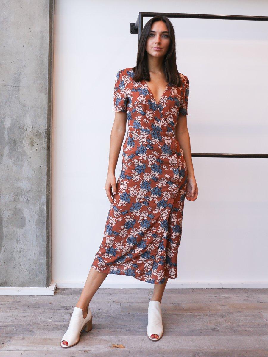 d8562d1243b0 Desert Flower Midi Dress in 2019 | Products | Dresses, Desert ...