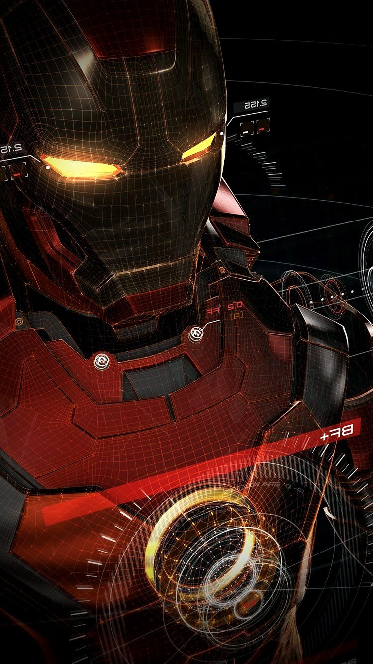 Iron Man Wallpaper 4k Iphone 7 Ideas Di 2020 Iron Man Komik Marvel Pahlawan Super