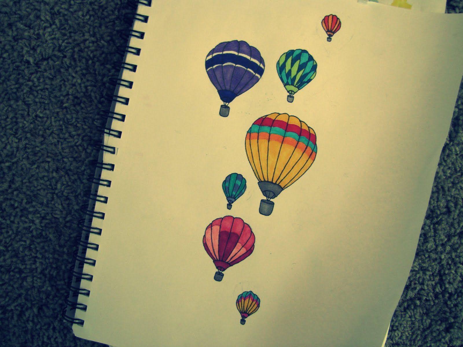 balloon drawing tumblr - photo #35