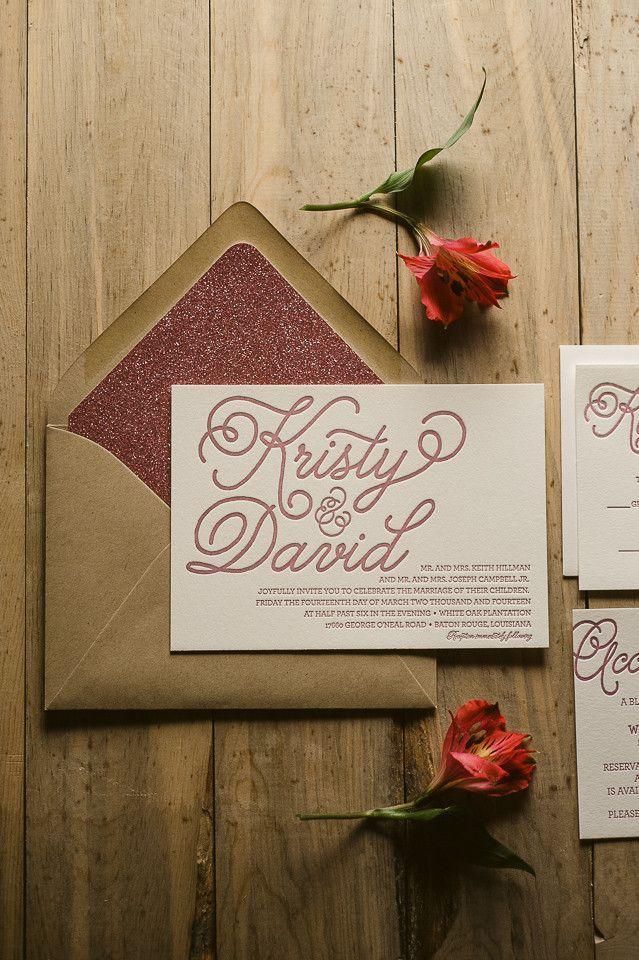 Top 10 Affordable Letterpress Wedding Invitations - Best ... |Inexpensive Wedding Invitations Letterpress