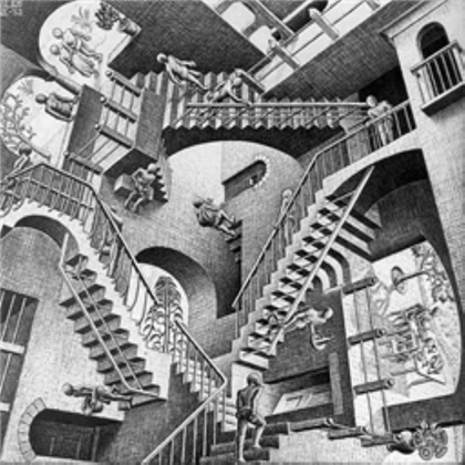 Painting Of Stairs Optical Illusion Wwwnaturalrugsstore