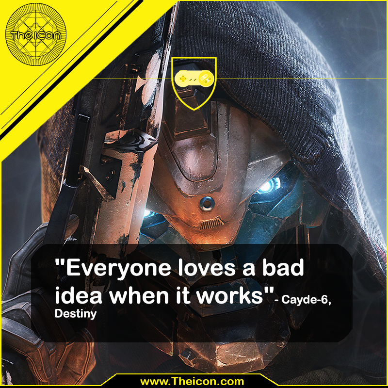 Everyone Loves A Bad Idea Video Game Quotes Game Quotes Trivia