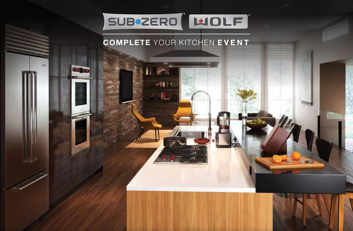 Wolf Sub Zero Appliances Complete Your Kitchen Promotion Denver Grand Kitchen Home Sub Zero Appliances