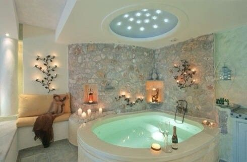 Indoor Jacuzzi C Indoor Hot Tub Romantic Bathrooms Amazing Bathrooms