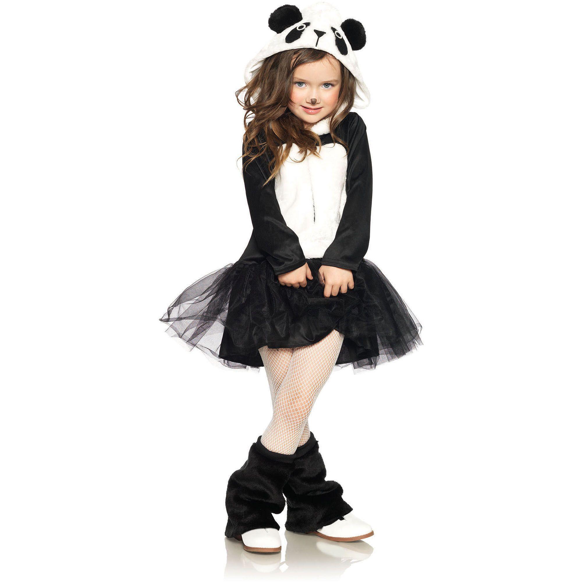 pretty panda child halloween costume - walmart | costumes