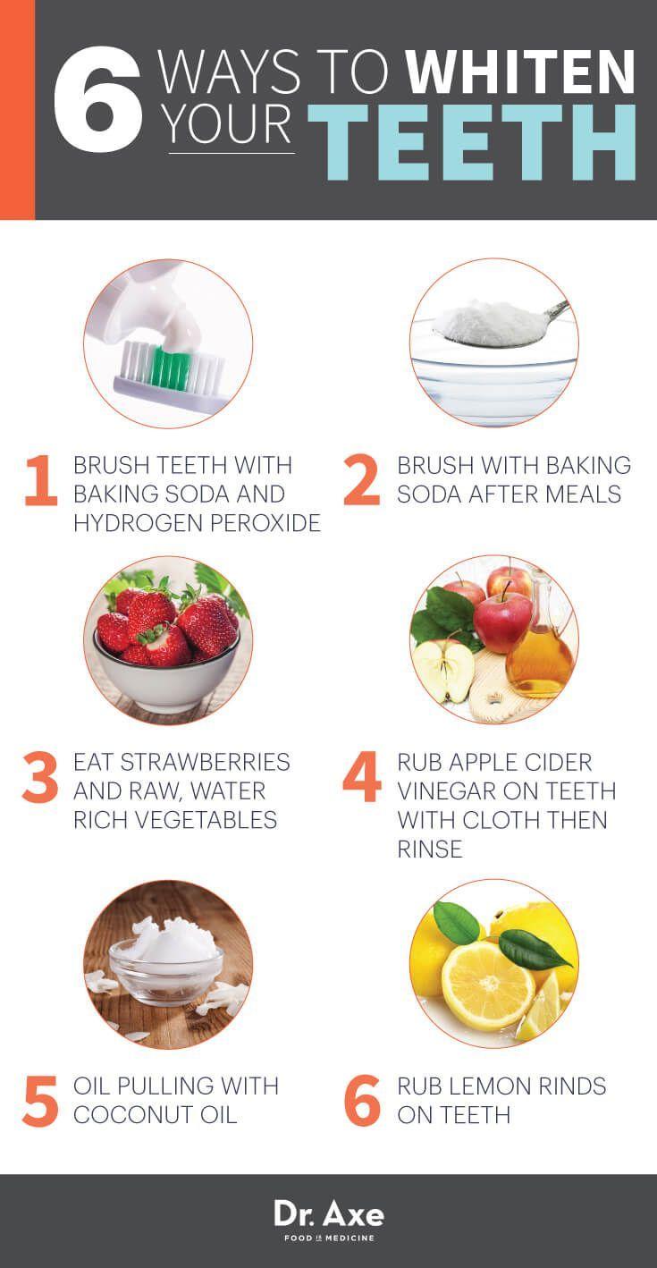 Ways to Whiten Your Teeth Naturally  DrAxe