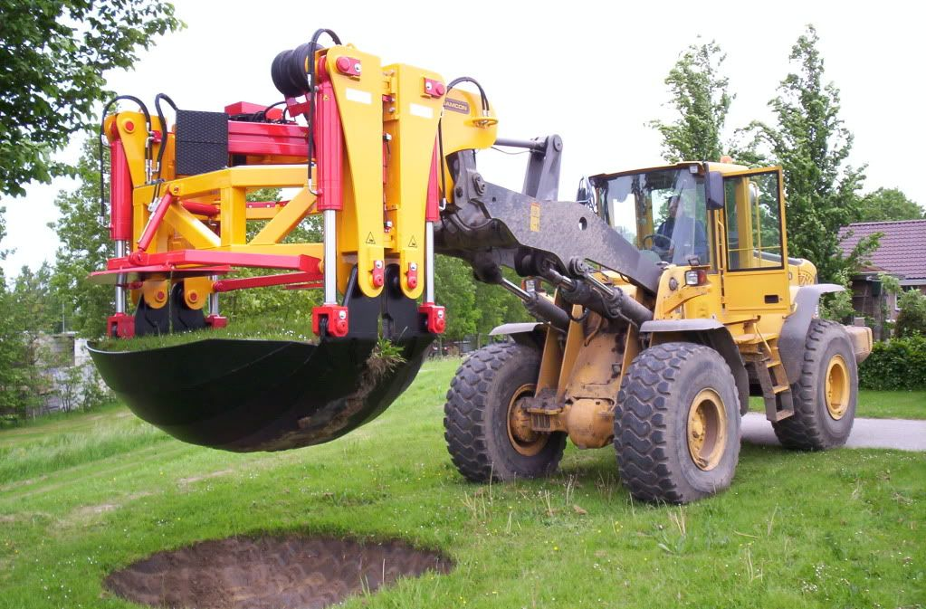 tree spade - Google Search | 2 | Monster trucks, Tractors