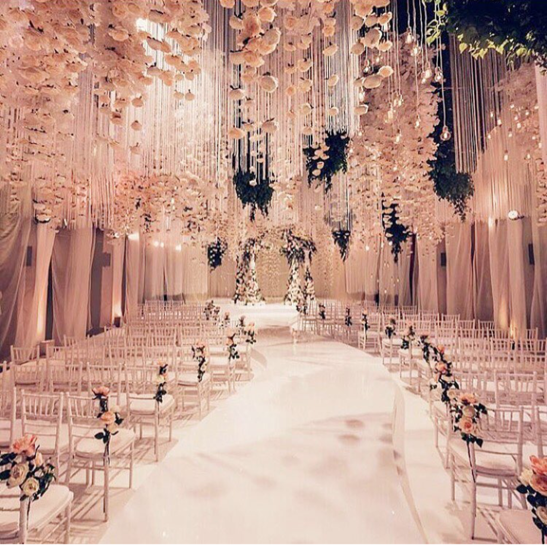 Wedding decorations hanging from trees  Pin by DanaMarie Capporelli on Wedding Inspiration  Pinterest