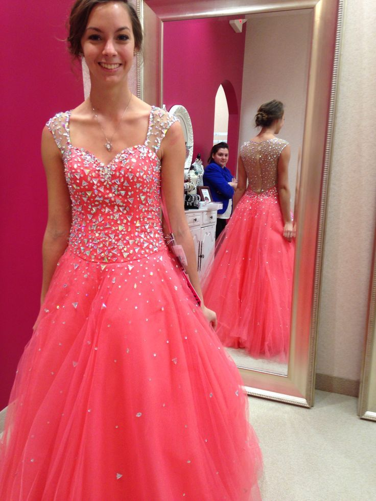 Pd6071 High Quality Prom Dress,Tulle Prom Dress,A-Line Prom Dress ...