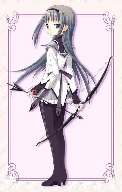 Homura Akemi Anime Madoka Magica Anime Anime Art