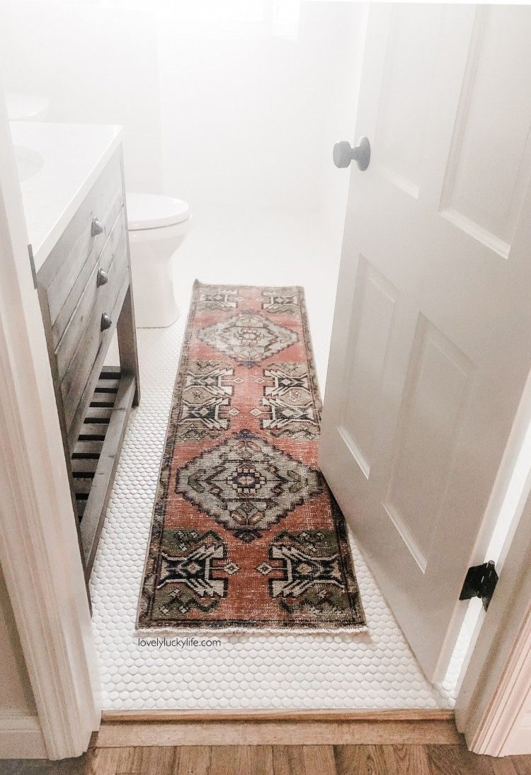 Where To Find The Best Affordable Vintage Turkish Runners Rug Runner Kitchen Bathroom Rugs Home