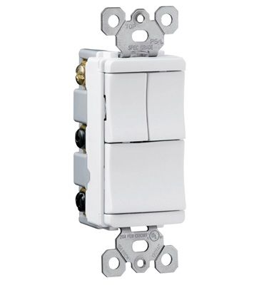 Trademaster Decorator Combination Switch White Tm8113wcc By Legrand Wire Switch Light Switch Wiring Light Switch