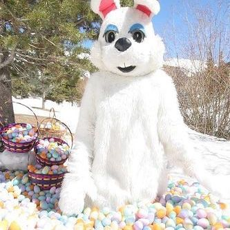 Center Village Egg Hunt At Copper Mountain CO Easter EggHunt KidsActivities