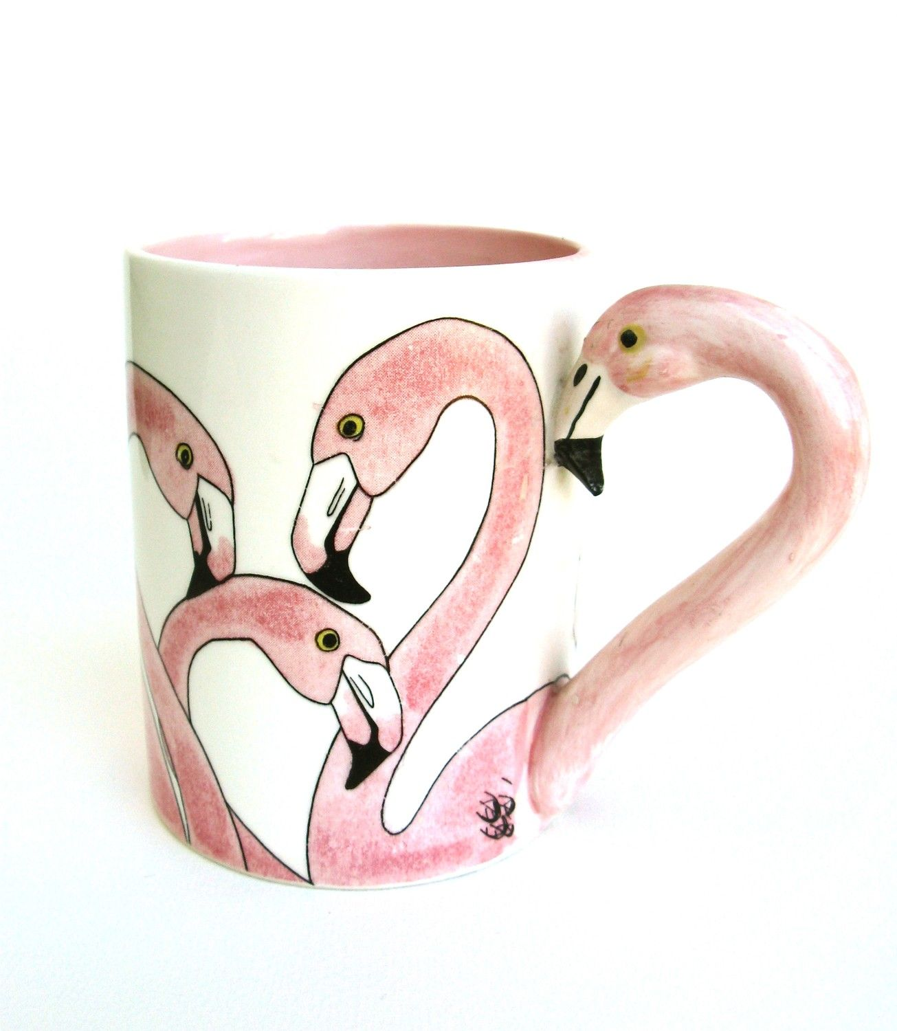 Ah This Is It Just Like My First Flamingo Mug Ever The That Started Love Of Flamingos But After About 15 Years