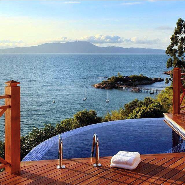 Operation FitBuzzer weekend destination… Ponta Dos Ganchos #Resort #Brazil  Good morning…