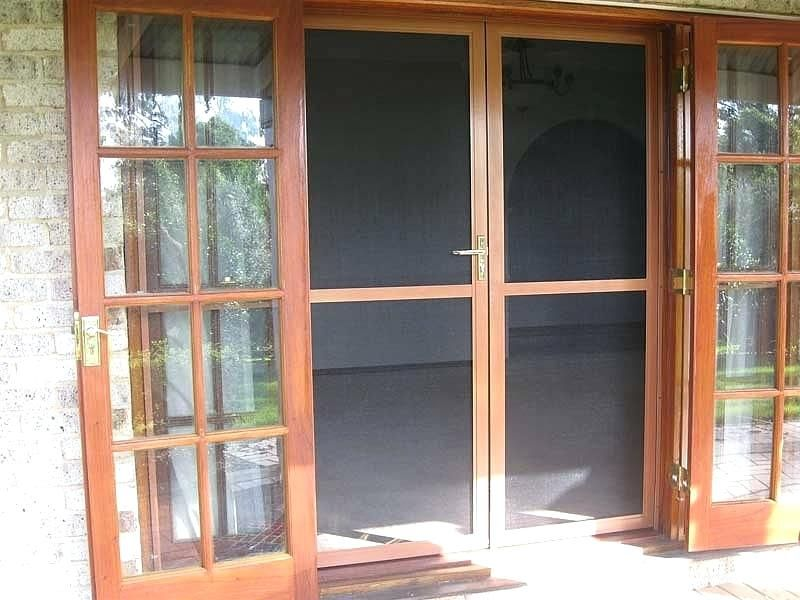 French Door With Screens Insect Screen Doors French Patio Door