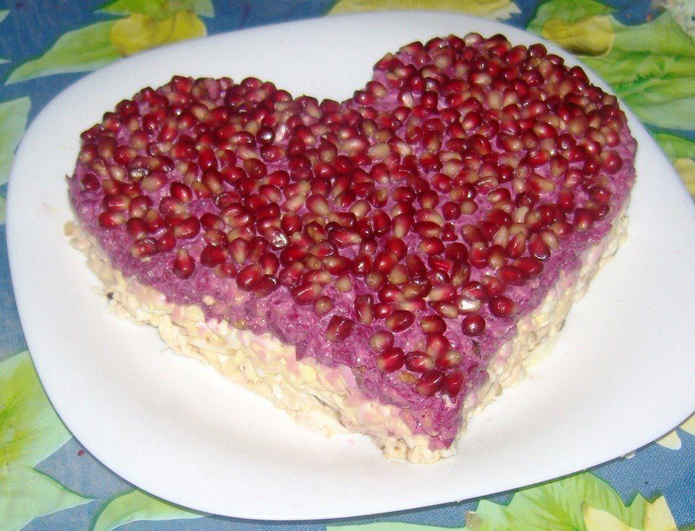 кировец известен рецепты салатов с фото в виде сердца опубликованном фото