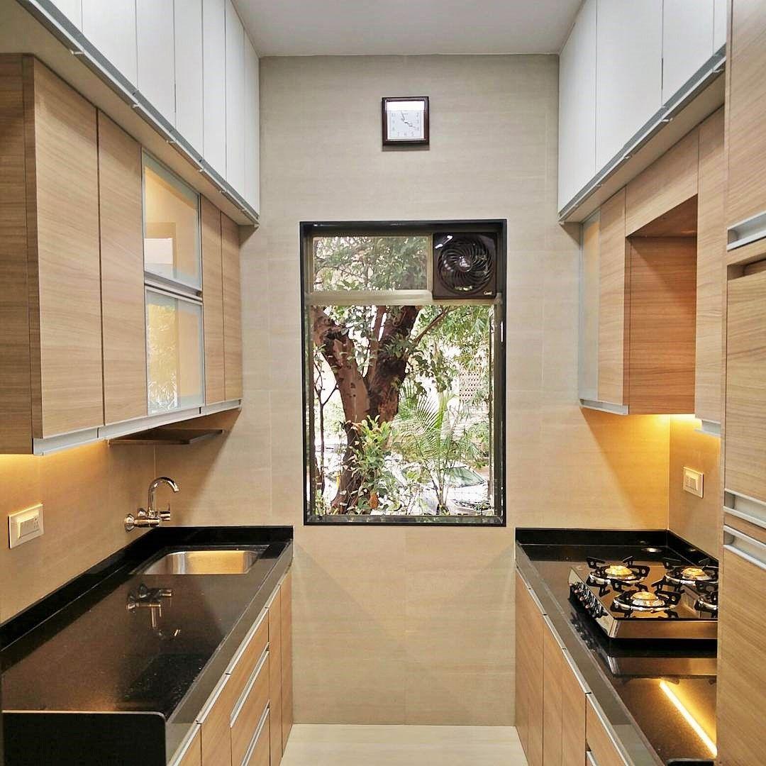small kitchen design with window   Kitchen furniture design, Very ...