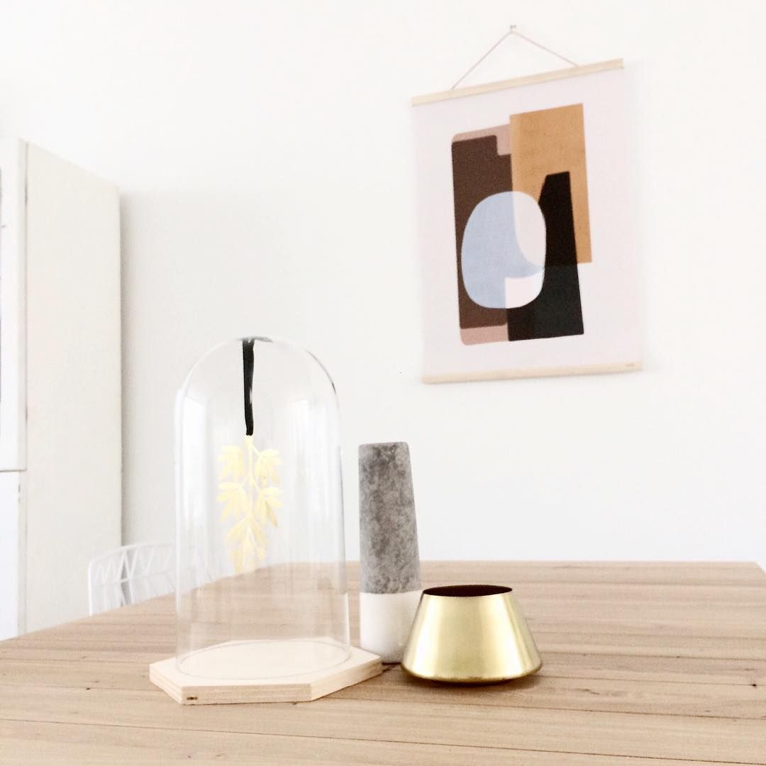 High Quality Ferm LIVING Abstraction Poster And Wooden Frames In Maple: Https://www.
