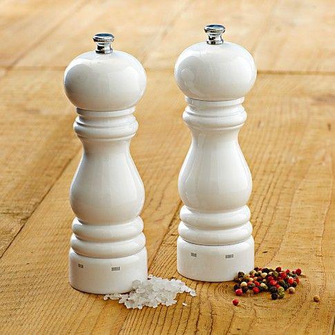 Peugeot Paris U Select Salt Pepper Mills Williams Sonoma Pepper Mill Salt Pepper Mills Salt And Pepper Mills