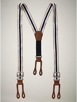 Gap suspenders for my little man.