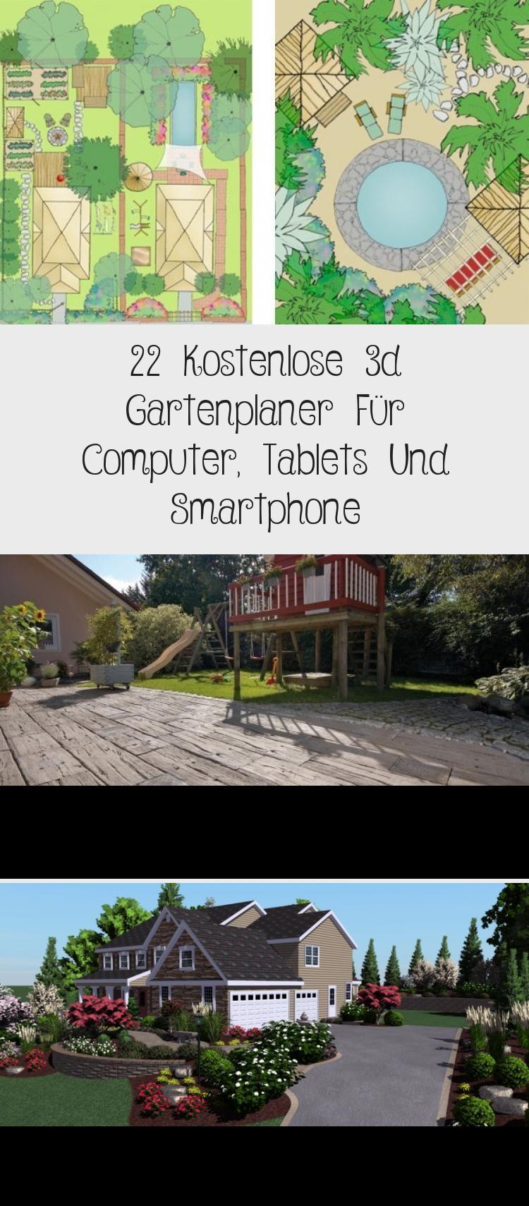 22 Kostenlose 3d Gartenplaner Fur Computer Tablets Und Smartphone In 2020 Gartenplanung Garten Landschaftsplanung