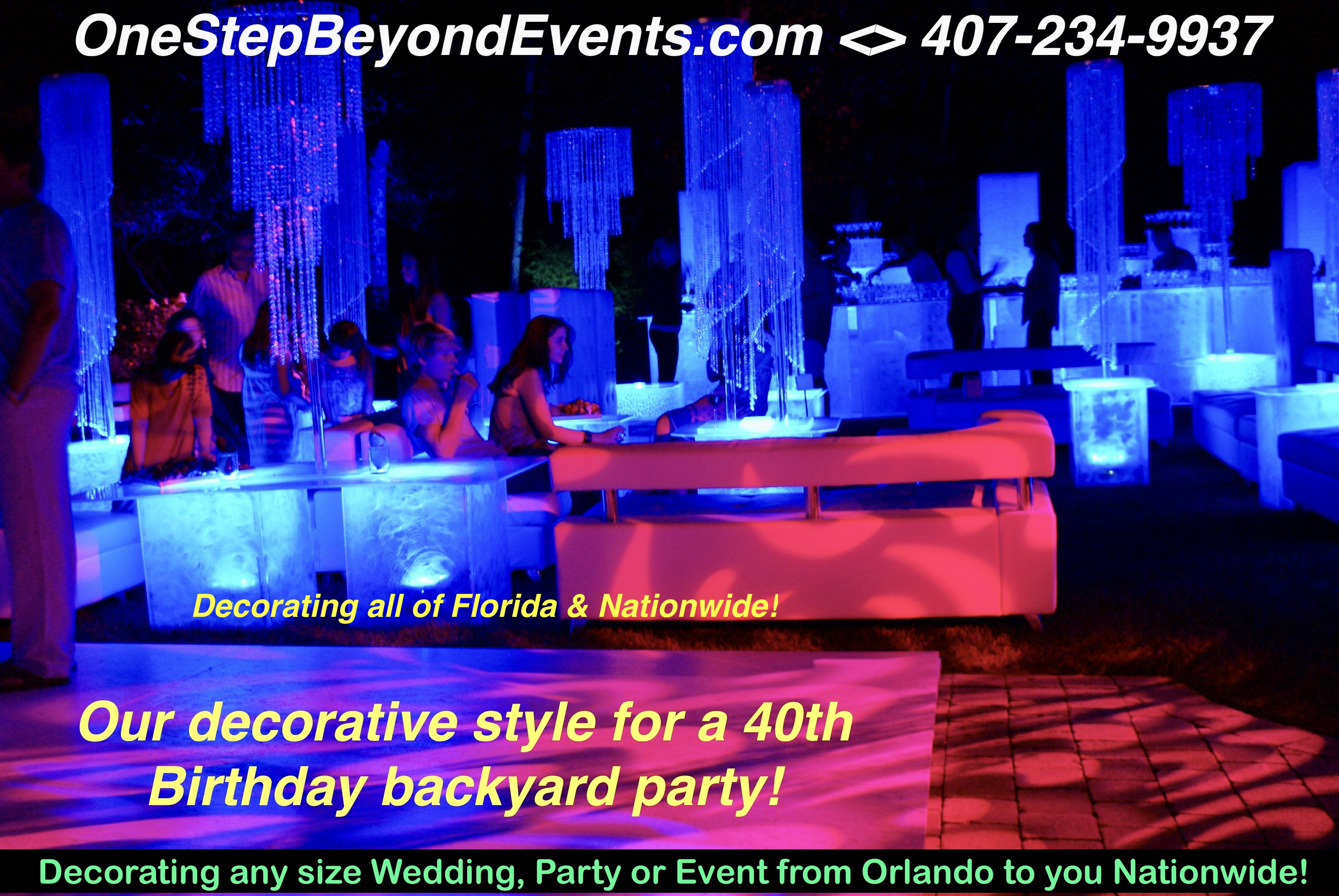Affordable Party Rental ideas! Glow Table & LED Furniture ...